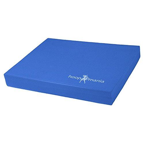 Hoopomania tapis de l'équilibre, pour l'entraînement de la coordination et la thérapie, bleu