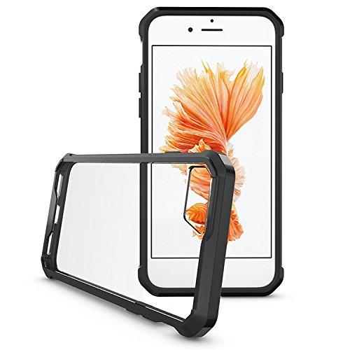 iPhone 7 4.7 Hülle, Voguecase Transparent Schutzhülle / Case / Cover / Hülle / 2 in 1 TPU+ PC Gel Skin für Apple iPhone 7 4.7(grün) + Gratis Universal Eingabestift schwarz
