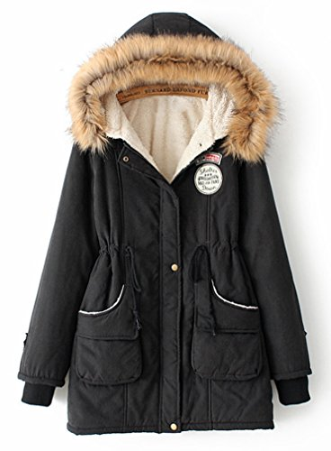 Black Parka Jacket Womens - JacketIn