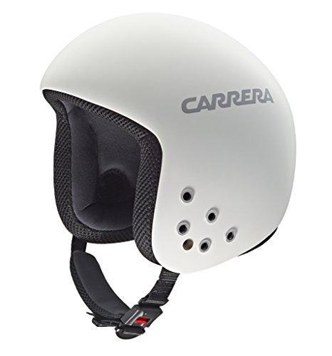 Carrera Bullet - Casco de esquí, color blanco mate, talla M