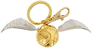 Harry Potter HP Golden Snitch Pewter Keychain