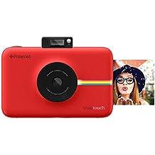 Polaroid Fotocamera Digitale Snap Touch a Stampa Istantanea con Schermo LCD (rosso) e Tecnologia di Stampa Zink Zero Ink