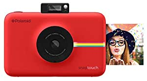 Polaroid Snap Touch Instant Print Digital Camera (Red) with LCD Display and Zink Zero Ink Printing Technology