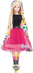 Idea Regalo - Anagram- Pallone Foil Minishape Barbie Sparkle-Si GONFIA AD Aria, Multicolore, 7A3065602