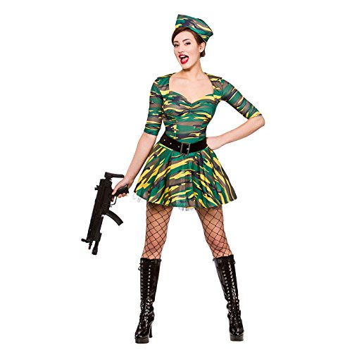 (Corporal Cutie Ladies Fancy Dress Costume Halloween)