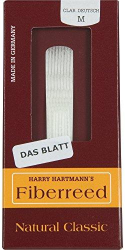 "Fiberreed - Blatt für Bb-Klarinette deutsch ""Natural Classic"" - medium hard - MH"