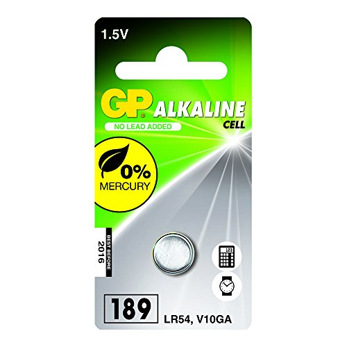 GP Batteries 102004 LR54 Pile 1 pièce