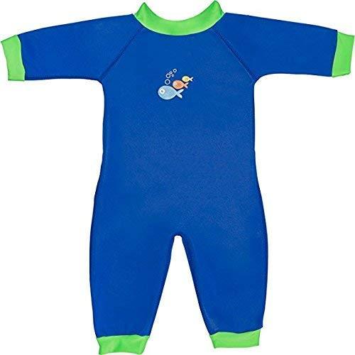 Swimbest Traje de bebé, Azul Verde, 0-3 Meses (SWW01-03)