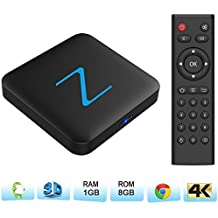 Zenoplige Z11 Android TV BOX Android 6.0 Marshmallow Amlogic905X 1G 8G 4K H.265 64BIT DLNA Miracast Wifi LAN Smart TV BOX