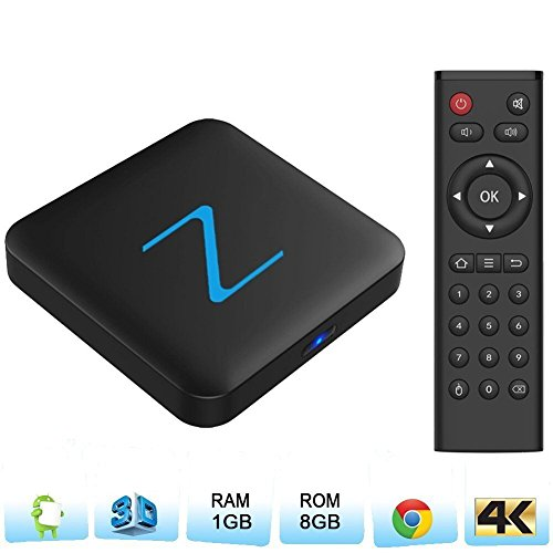 Zenoplige Z11 Android TV BOX Android 6.0 Marshmallow Amlogic S905X 1G 8G 4K H.265 64BIT DLNA Miracast Wifi LAN Smart TV BOX