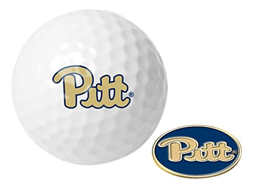NCAA Pittsburgh Panthers - Golf Ball One Pack mit Marker