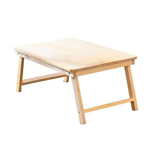 Moderner Ausziehbarer Esstisch (ZPWSNH Moderner minimalistischer Laptop-Schreibtisch aus massivem Holz mit kleinem Tisch 60X40X28 cm Klappbarer Kleiner Tisch)