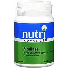 Nutri Advanced Similase Planta Enzimas Digestivo Fórmula - 90 Cápsulas