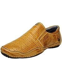Buckaroo CLIFTON - Tan Men's Leather Casual - 43 EU / 9 US Men