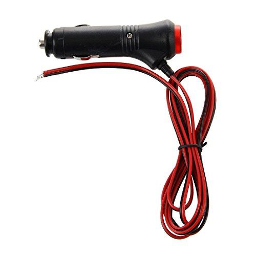 SODIAL(R) Mechero Conector 12V 24V para Moto Motocicleta Coche con Interruptor