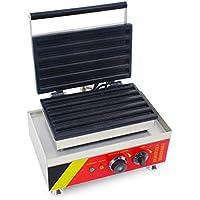 Parrilla Churros eléctrica multifuncional Máquina de desayuno de tostadora de waffle comercial Máquina de hacer frutas latinas Horno de barbacoa