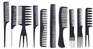 SHANY professional Comb set -10pcs - premium quality by SHANY Cosmetics by SHANY Cosmetics