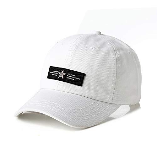 sdssup Hut männlich Karte schwarz Kappe Sommer Baseball Cap weißer Erwachsener