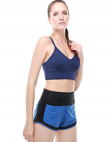 Compression des femmes Soutien-gorge sport Confortable Yoga Fonctionnement Soutien-gorge dentraînement color5