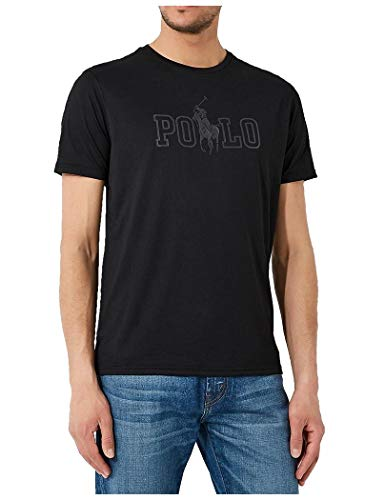 Ralph Lauren T-Shirt Herren S Black 710695630001-TS