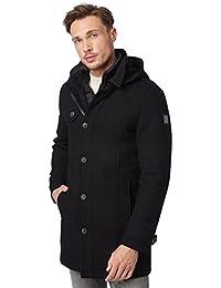 TOM TAILOR Messieurs Veste d'hiver noir XXL