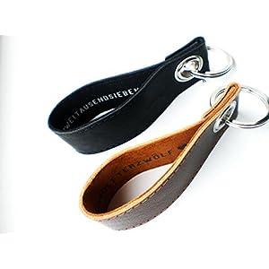 Schlüsselundwort, Schlüsselanhänger aus Leder, Valentinstag, Liebe, Hochzeitstag, Datum mit Wunschtext
