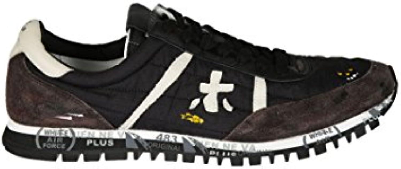 PREMIATA Herren SEAN2898 Schwarz Polyamid Sneakers