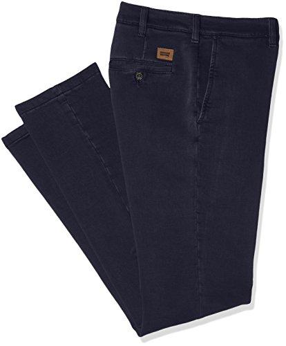 CARRERA Chinos Gabardina Stretch, Vestibilita' Regolare, Pantaloni Uomo, 676 Blu Navy, 48 IT (Navy Pantaloni)
