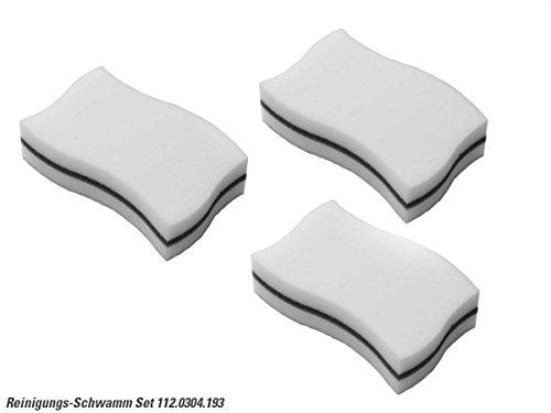 Franke 112.0304.193 Reinigungs-Schwamm 3er Set Melaminschwamm Schmutzradierer