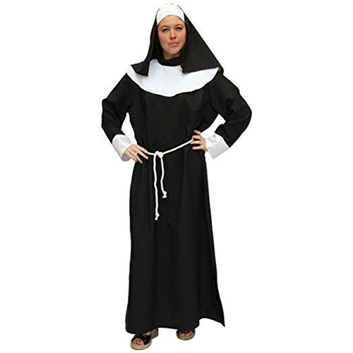 Frauenkostüm Nonne Gr. 56 Nonnenkostüm Männer Gr. 62 Männerballett Kloster Kostüm Nonne (Kostüm Männer Nonne Für)