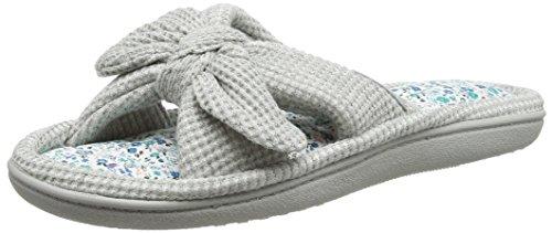 isotoner-women-waffle-toe-open-back-slippers-grey-grey-6-uk-39-eu