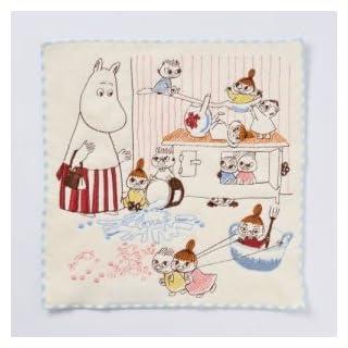 Marushin Moomin Mini Handtuch Love to Sause 25x 25cm
