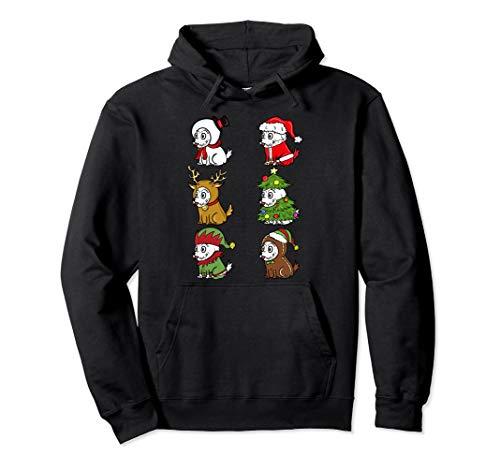 Westies Kostüm Für Hunde - Westie Xmas Kostüme Lustiger Hund Weihnachten Geschenk  Pullover Hoodie
