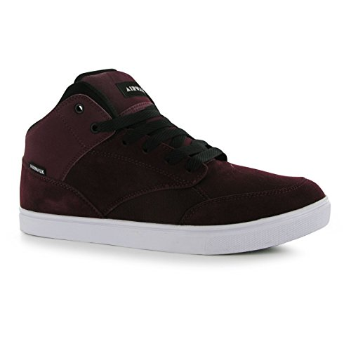 airwalk-breaker-mid-top-skate-zapatos-para-hombre-burgundy-casual-zapatillas-zapatillas-granate