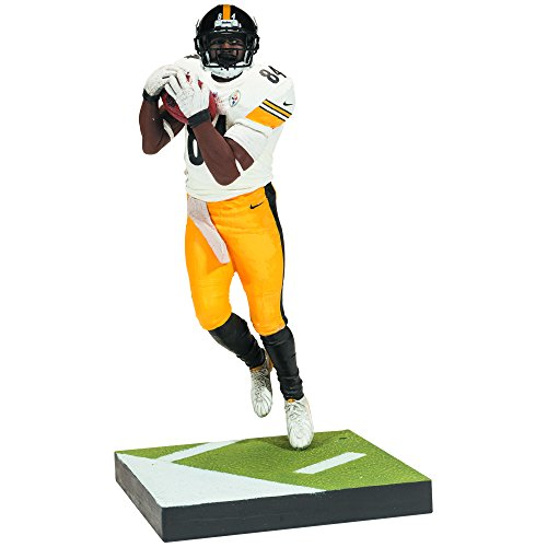 McFarlane NFL Series 37 Figure: Antonio Brown (Steelers Football-uniform)