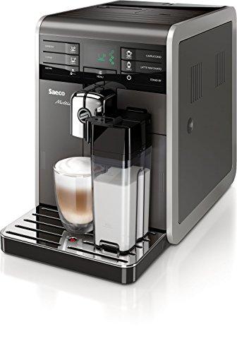 Saeco Moltio hd8777/11Espresso Machine 1.9L 15tazas schwarz-Espressomaschine (freistehend, Machine, Kaffeebohnen, Schwarz, Kunststoff)