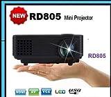 CROCON RD805 LED Projector 800 Lumens HD...