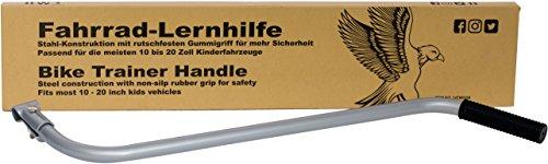 Prometheus Schubstange | Universelle Schiebestange | Extra Lang | Stabile und Rutschfeste Stahlkonstruktion in Grau | Lernhilfe für die Meisten Kinderfahrzeuge | Edition 2017