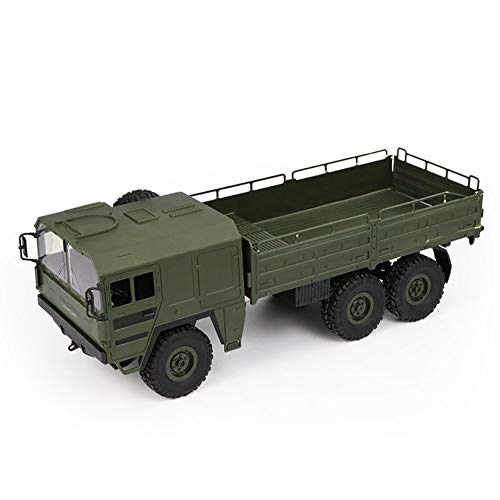elegantstunning 1/16 2.4G 6WD Rc Auto Military Truck Offroad Rock Crawler RTR Spielzeug