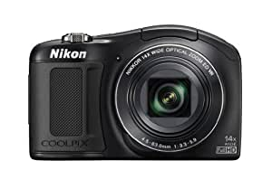 Nikon L620 Compact Camera - Black (18MP, CMOS Sensor, 14x Nikkor Optical Zoom Lens)