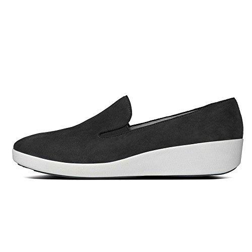 FF2 Di Fitflop Scarpe Skate F-pop Nero All Black