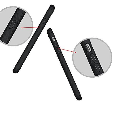 "iPhone 6S Plus Hülle, MSK® Schutzhülle iPhone 6 Plus Handyhülle [Hybrid Hülle] Harte Schale Bumper Tasche Etui Case Für Apple iPhone 6 Plus/6S Plus (5.5"") - Weiß Schwarz"
