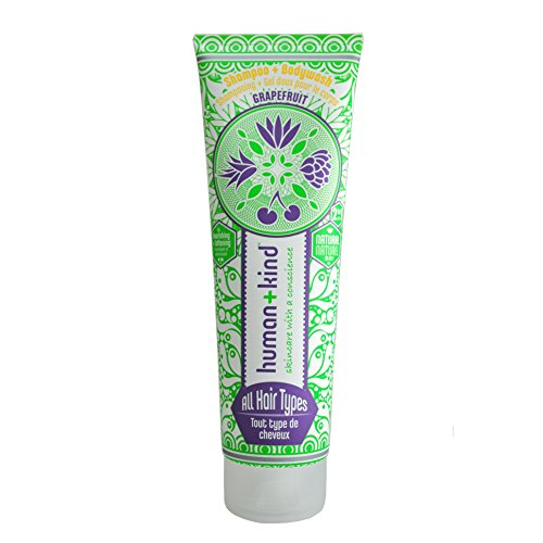 human + kind Shampoo Plus Bodywash All Hair Types, 1er Pack (1 x 200 ml)