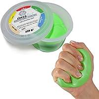 MSD Pasta 450g VERDE Forte comprimibile mano dedos atossica TheraFlex Putty Artritis Rehabilitación Fuerza Maxi tamaño