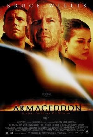ARMAGEDDON - BRUCE WILLIS - Imported Movie Wall Poster Print - 30CM X 43CM BEN AFFLECK (Ben Bruce Poster)