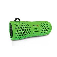 Speaker Helvei Diffusore Impermeabile Bluetooth per Ambienti Esterni - Nero/Verde