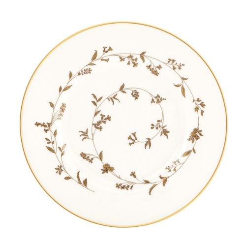 Lenox Golden Bough Geschirr-Set, 5-teilig Dekoteller weiß Fine Gold Plate