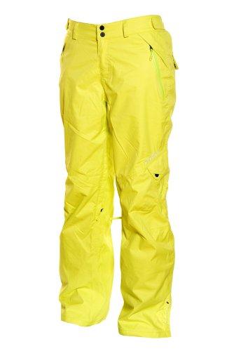 O'Neill Damen Snow Pants Freedom Akira, Damen, 55112, Poison Yellow, 52 -