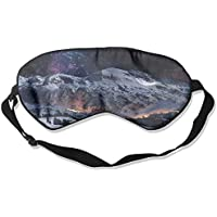 Mountains Nature Stars Night Sleep Eyes Masks - Comfortable Sleeping Mask Eye Cover For Travelling Night Noon... preisvergleich bei billige-tabletten.eu