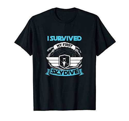 Erster Fallschirmsprung T-Shirt Skydive Geschenk Fallschirm